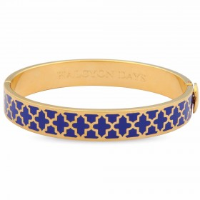 Agama Bangle, Cobalt & Gold