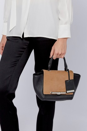 Mini Newman Camel & Black Bag