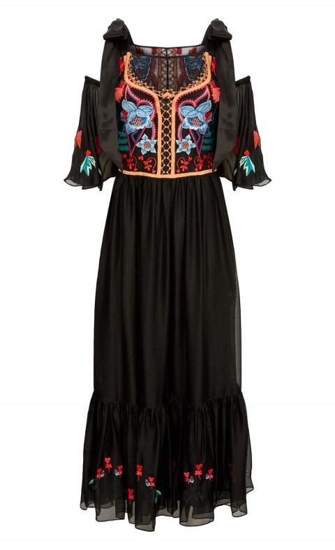 Botanist Dress Black