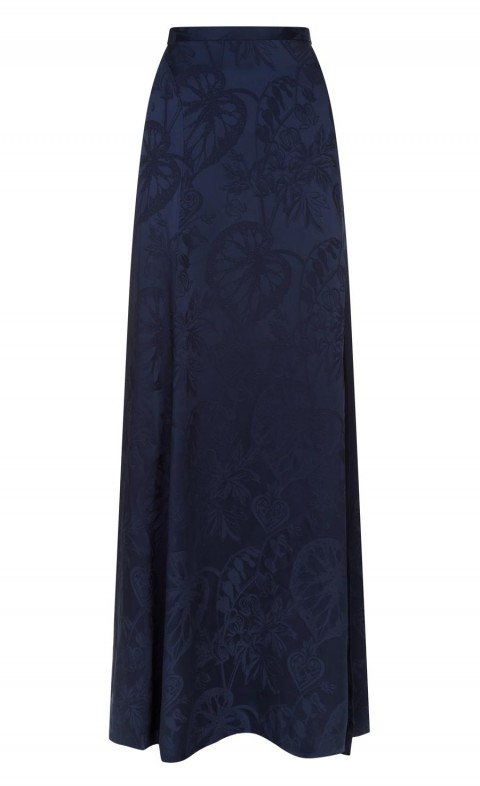Orbit Evening Skirt Midnight