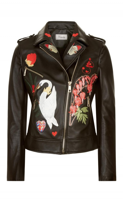 Elixir Leather Jacket Black