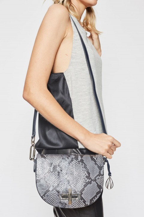 Niven Midnight Leather Crossbody Bag