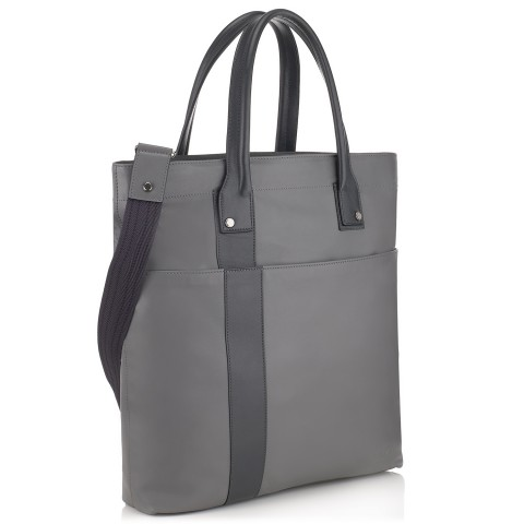 G10 Mens Tote Shopper Bag Shark And Smoke Grey