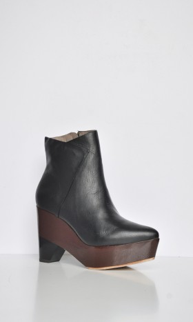 466-07 Ankle Boots Black