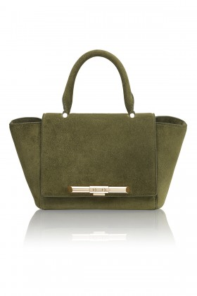 Mini Newman Khaki Bag
