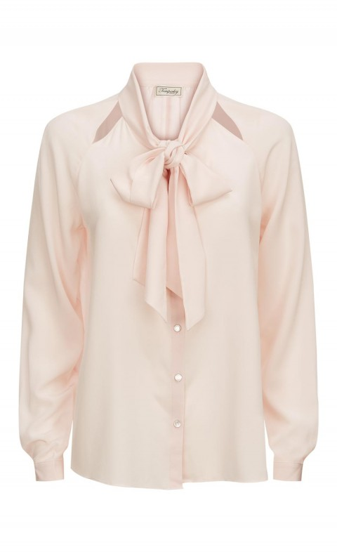 Purity Bow Shirt Shell