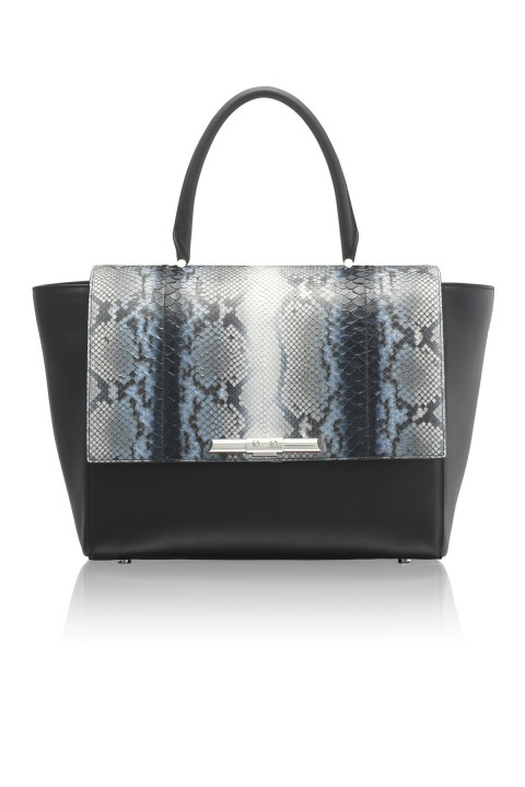 Newman Midnight Python Bag