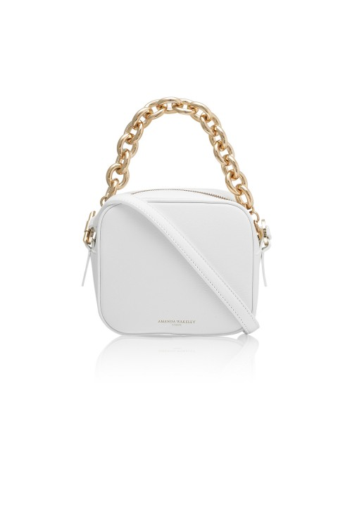 Jackson White Pochette Bag
