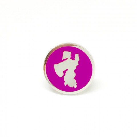 Reddendi Middle East Silver Cufflinks Purple