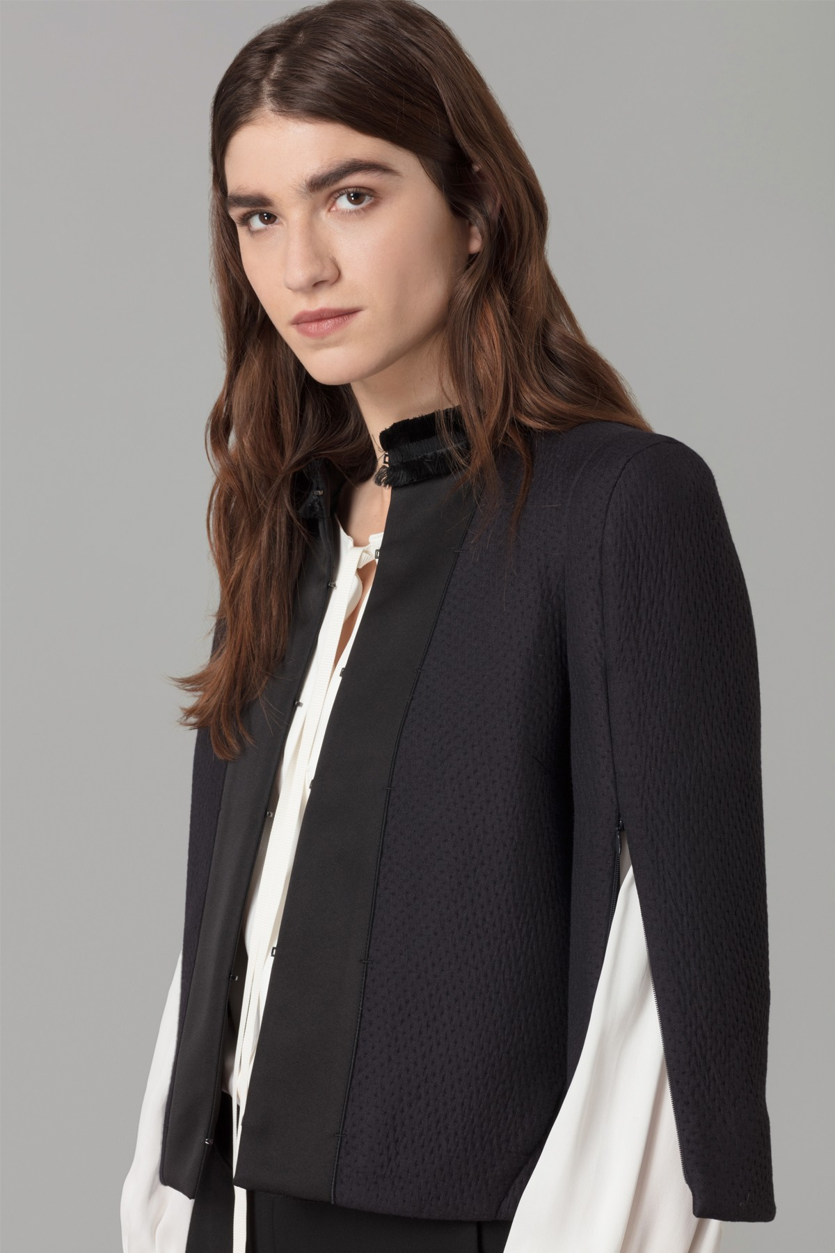 Amanda Wakeley Midnight Cloque Jacket