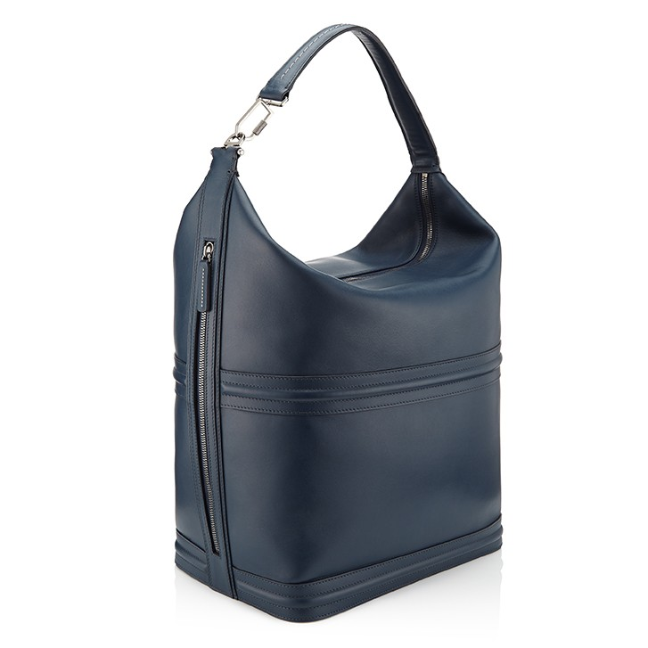G36 Unisex Hobo Bag Ocean Blue Angle