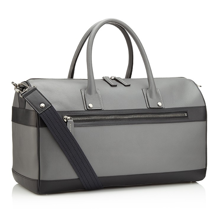 G9 Mens Duffle Bag Smoke / Shark Grey Side