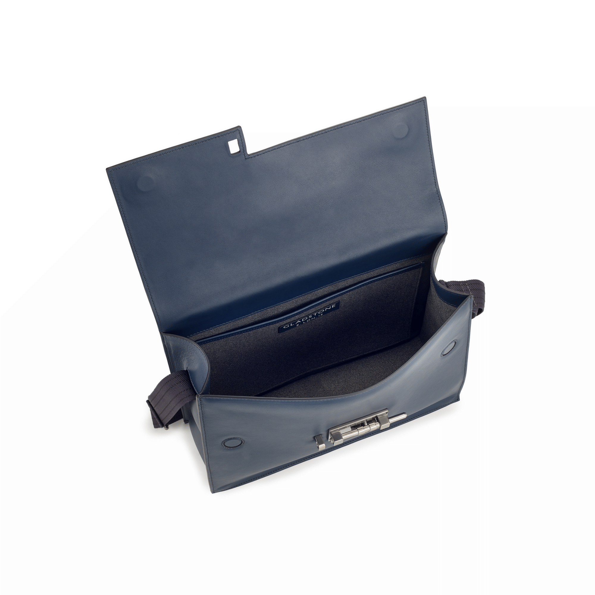G12 Messenger Bag Ocean Blue Open