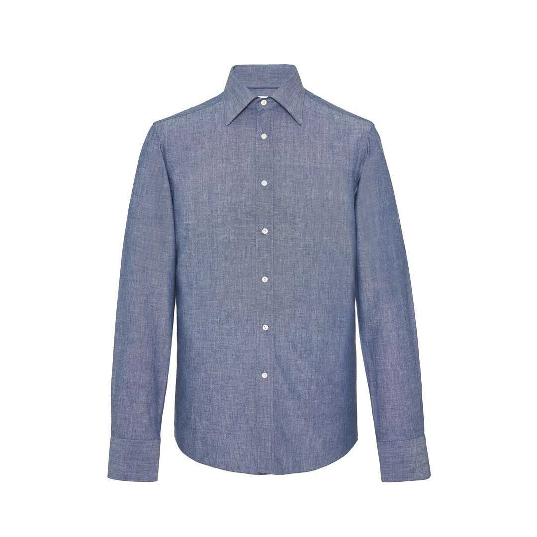 MR FISH Japanese Indigo Chambray Shirt